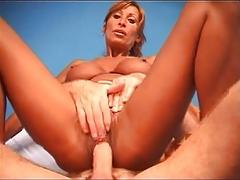 French Mature Sabrina Anal