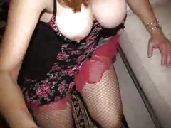 Milf Masturbates With A Face Full Of Cum