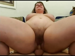 Fucking Fat BBW Nympho Ex Gf With Hairy Pussy P3