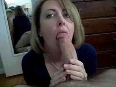 Mom Sucks Cock