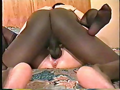 Wet Pussy Enjoying Bbc