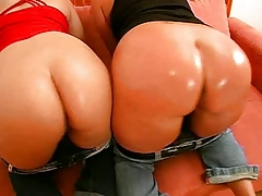 Two Big Ass German Girls Get Fucked