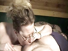 Milf Throats A Long Cock