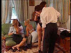 Groupsex At The Office Real Hot Orgy