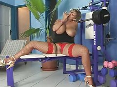 Super Blonde Fuck 039 S In Gym