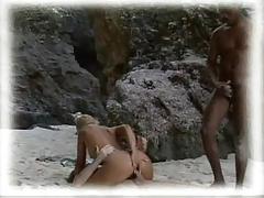 White Man Sharing His Wife In Safari
