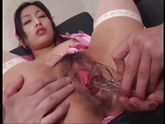 Japaneese Beautiful Girl Ran Asakawa Wet Vagina Nurse