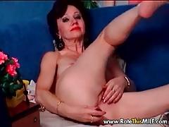 Hairy Amateur Granny MILF