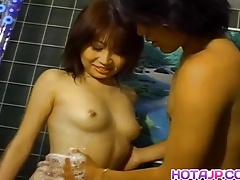 Reona Fujisaki Has Showered Cunt Fucked