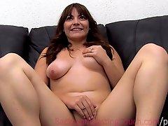 Mexican Fiance Ambush Creampie On Casting Couch