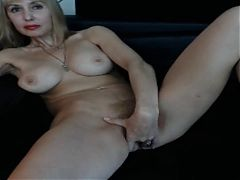Blonde Pussy Show