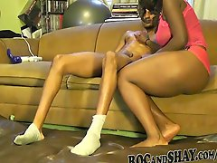 Black Bf Oils Her Gf 27s Sexy Ass And Fuck