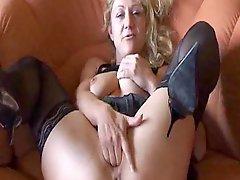 German Amateur Granny Masturbates Mature Mature Porn Granny Old Cumshots Cumshot