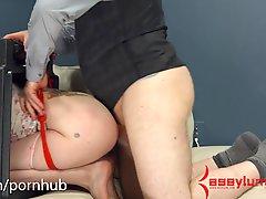 Goth Girls Gets Brutal Anal Punishment In Degrading Bondage