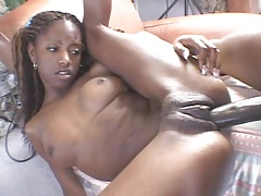 Skinny Black Woman Getting Dicked