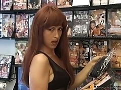 Hot Mom Fucked In Adult Video Store