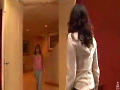 Mature Woman Seduces Skinny Young Girl F70