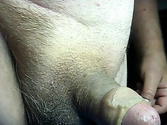 68 Yrold Grandpa 130 Mature Cum Close Closeup Wank Uncut