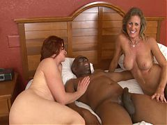 2 Hot Milfs And A Bbc
