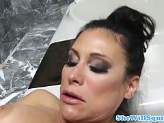 Milf Sheila Marie Squirting When Fucked