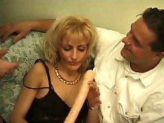 Blond MILF Alexia Rough Double Anal