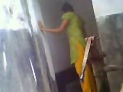 Northindian Girls Nude Bathing Captured By Her Homemember