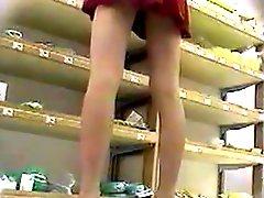 Upskirt In Store Hidden Cam