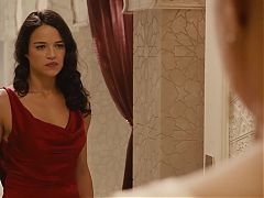 Michelle Rodriguez Ronda Rousey Fast And Furious 7