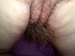 Wife Real Hairy Pussy Asshole Asscrack And 8 Long Pube