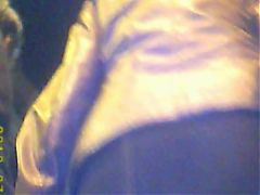 Upskirt MILF In Mini Skirt With Stokings And No Panties