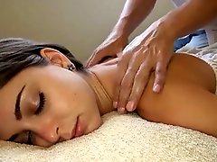 White Girl Getting The Best Massage Ever Riley Reid
