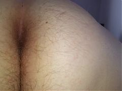 Pull Down Her Black Pantys Reveal Hairy Pussy Asshole