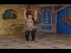 Alla Kushnir Gives Sexy Belly Dance Lessons Again