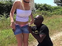 White Girl Fucks Bbc Outdoor In Front Of Hubby