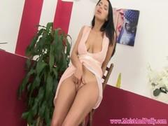 Bigtaco Babe With Bigtits Masturbating