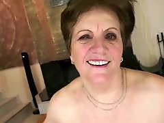 Mom With Flabby Body Saggy Tits Hairy Cunt And Guy