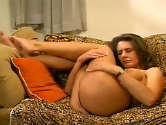 Milf Cheryls Cunt And Asshole Can Accomodate This Huge Cock