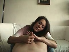 Handjob For Uncut Sexyclaire