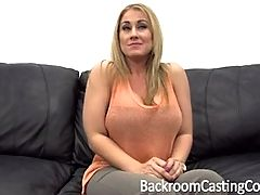 Big Tit MILF Assfuck On Casting Couch