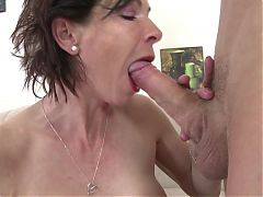 Skinny Granny Suck And Fuck Young Boys Cock